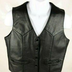 Harley Davidson Women Leather Vest.